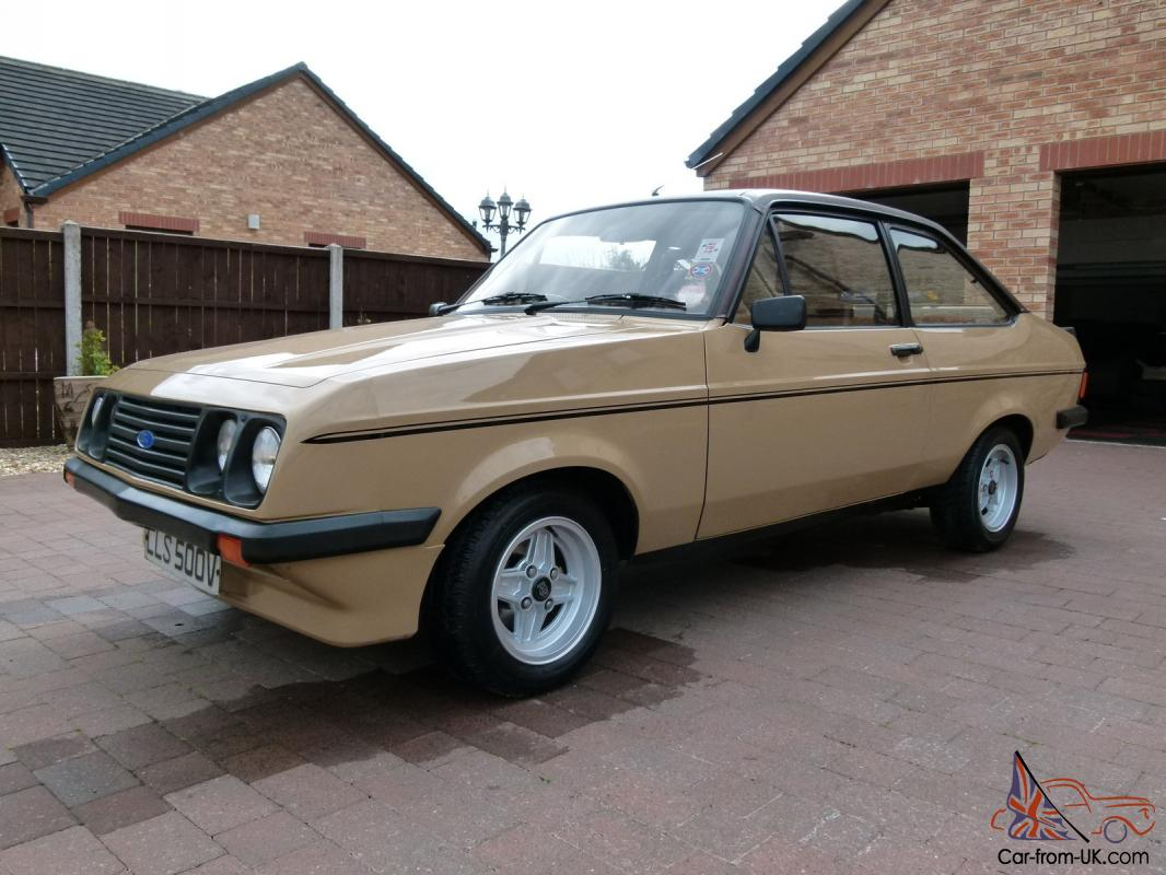 Ford Escort MK2 RS2000 - Genuine Low Mileage Car