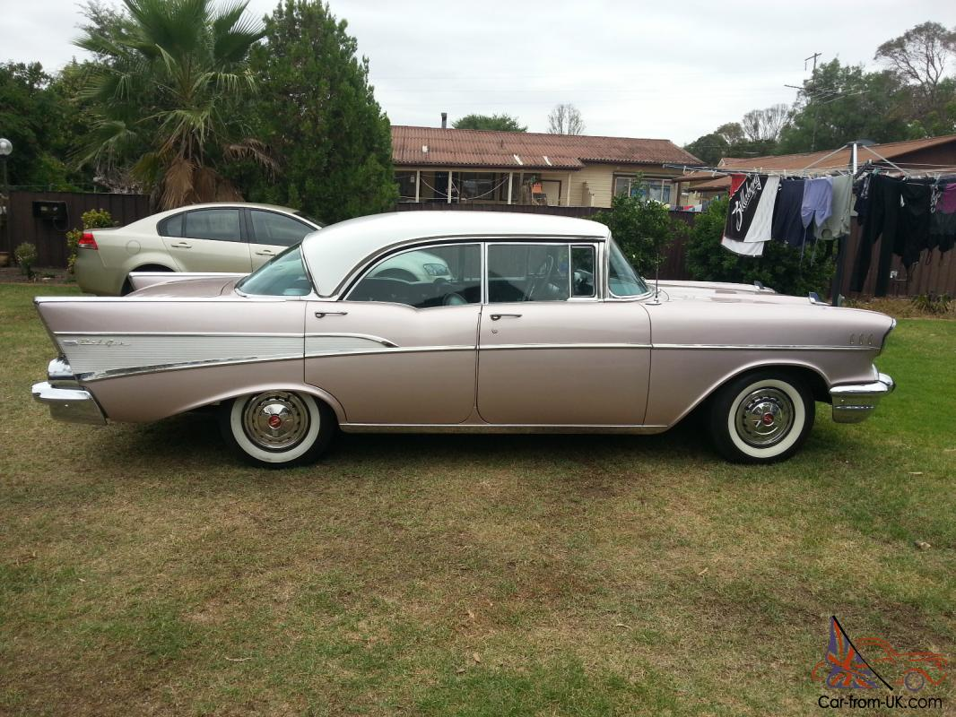 1957 chevrolet bel air 4 door hardtop in sydney nsw for 1957 chevy bel air 4 door hardtop