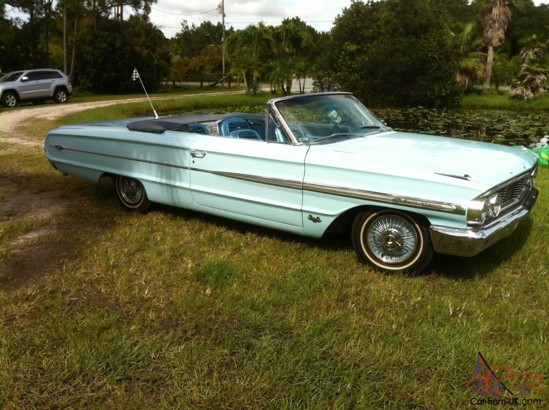 1964 ford galaxie 500 xl convertable. Cars Review. Best American Auto & Cars Review