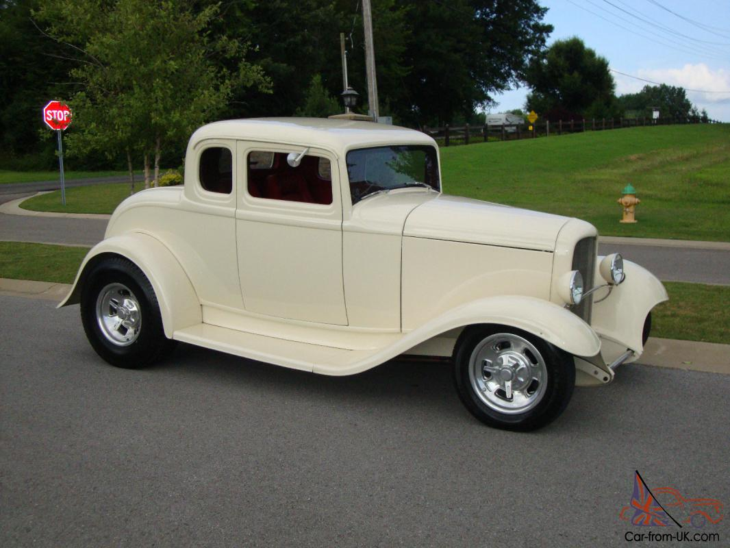 1932 ford 5 window coupe henry ford all steel zz4 350 ac for 1934 ford 5 window coupe street rod