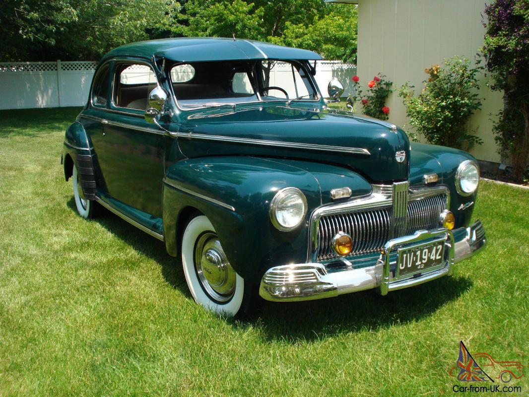 1942 ford super deluxe coupe Ford motor auto sales