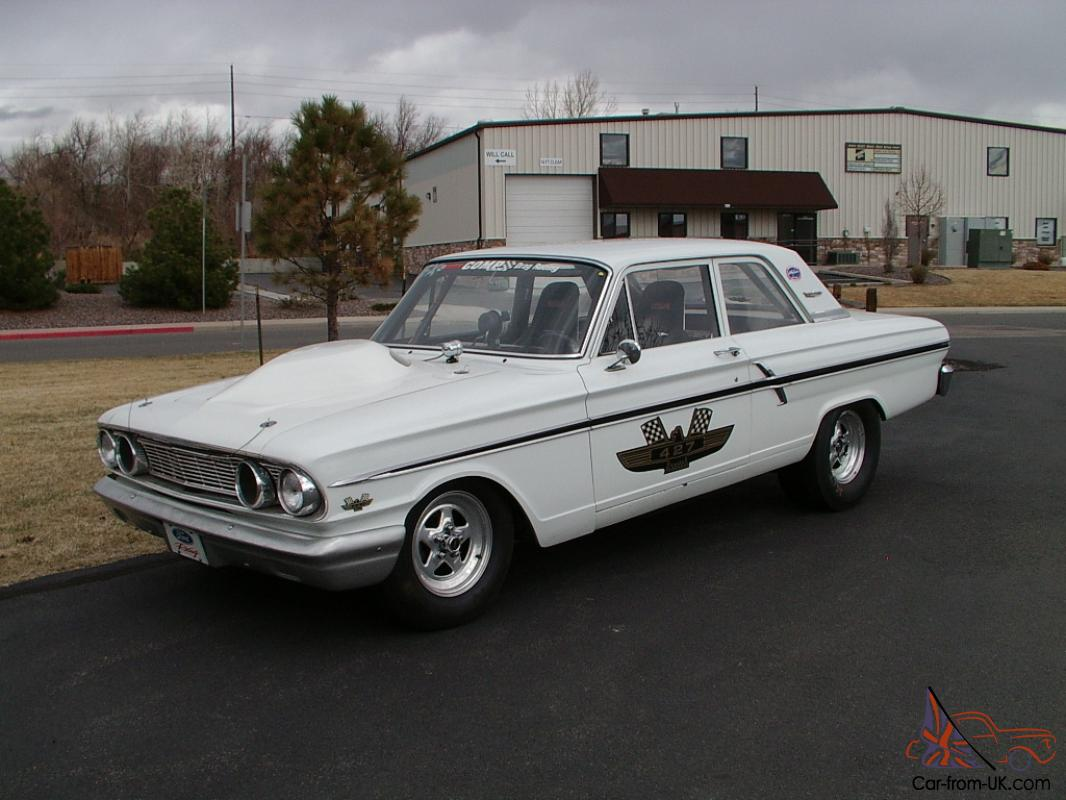 Ford Fairlane Thunderbolt tribute car - 427FE powered - A/FX drag car