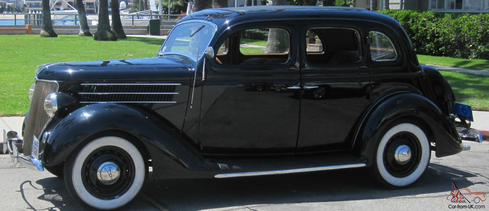 1936 ford sedan 4 door with a rebuilt 1948 ford flathead