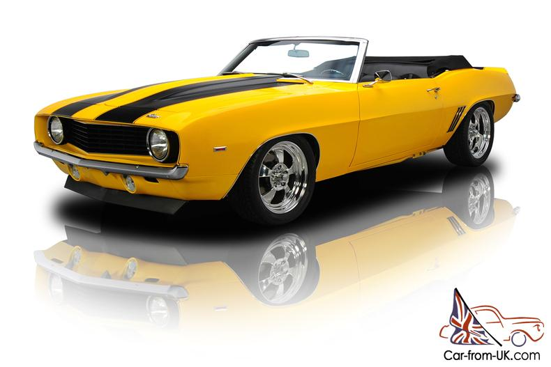 Frame Up Built Camaro Ss Pro Touring Convertible 502