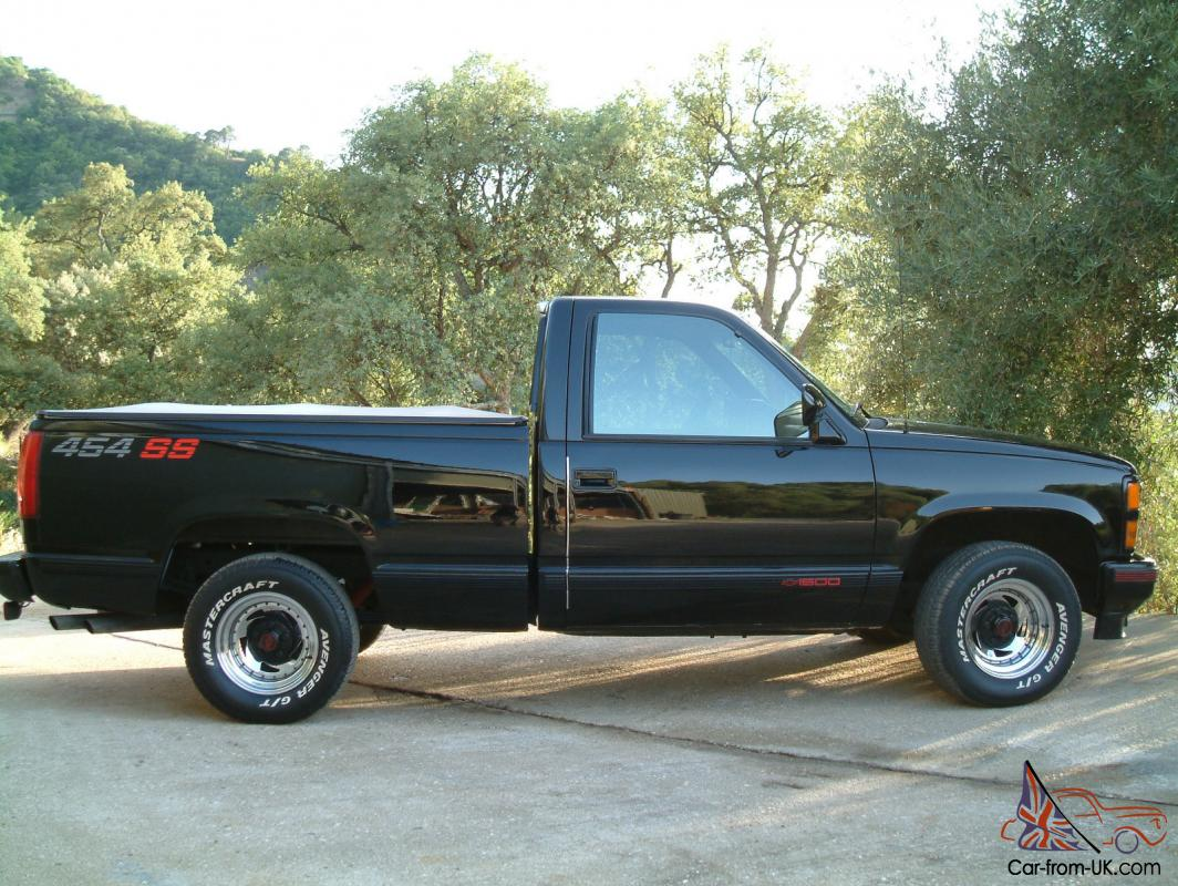 1990 Chevrolet 454ss Pick Up