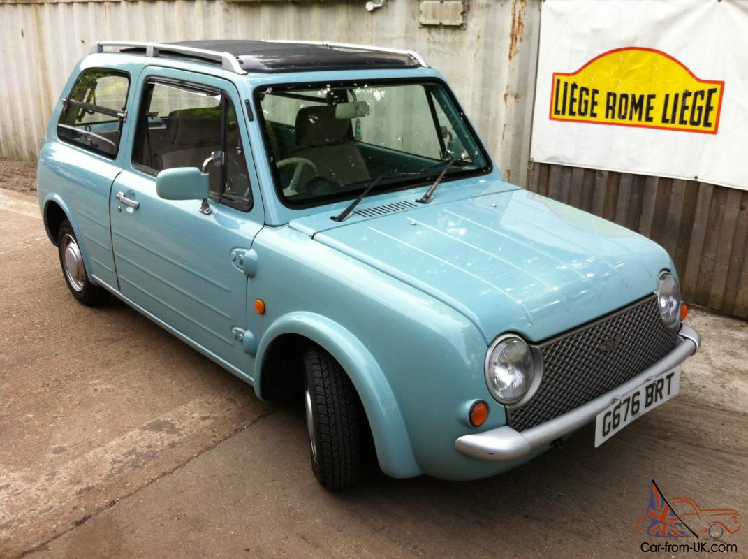 NISSAN PAO - SHEER GENIUS RETRO CLASSIC MICRO CAR - RARE IN U.K ...