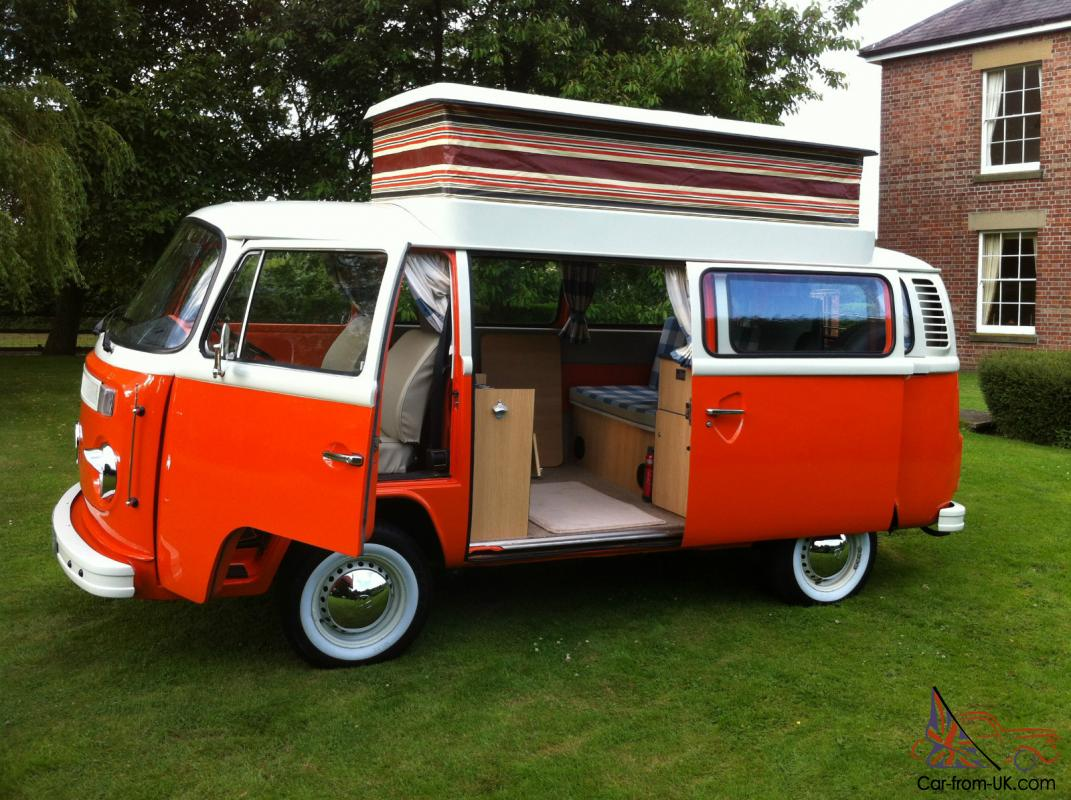 1976 VOLKSWAGEN CAMPER VW SHOW CONDITION RUST FREE NEW INTERIOR