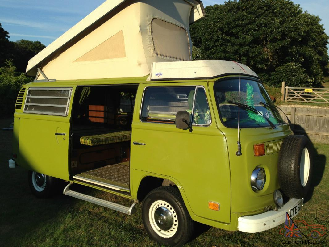 vw t2 bay window 1978 camper van. Black Bedroom Furniture Sets. Home Design Ideas