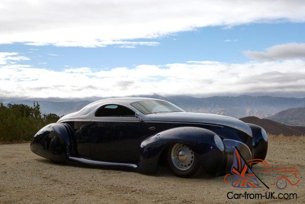 1939 Lincoln Zephyr Coupe Hot Rod