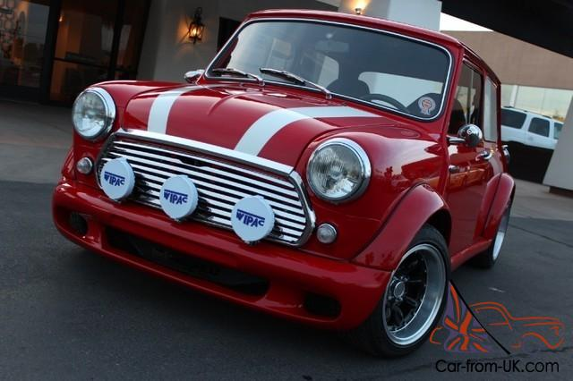 1969 mini cooper fully custom vtec b16 honda drivetrain too much to list. Black Bedroom Furniture Sets. Home Design Ideas