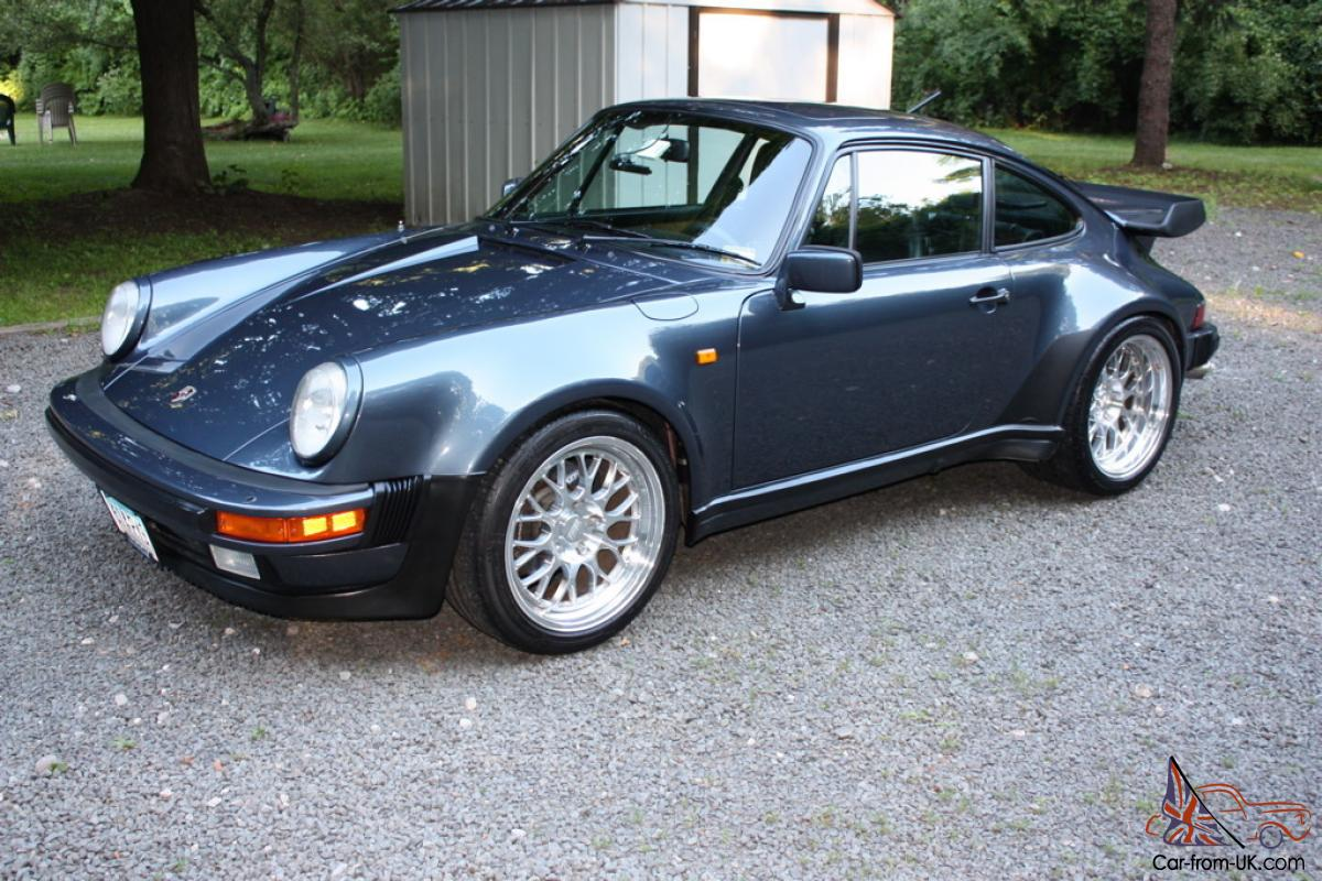 1982 porsche 930 911 turbo 400 hp pacific blue color. Black Bedroom Furniture Sets. Home Design Ideas