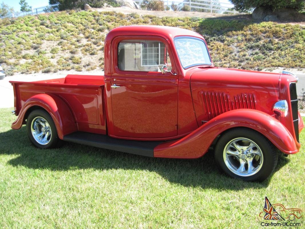 1935 ford pick up truck photo