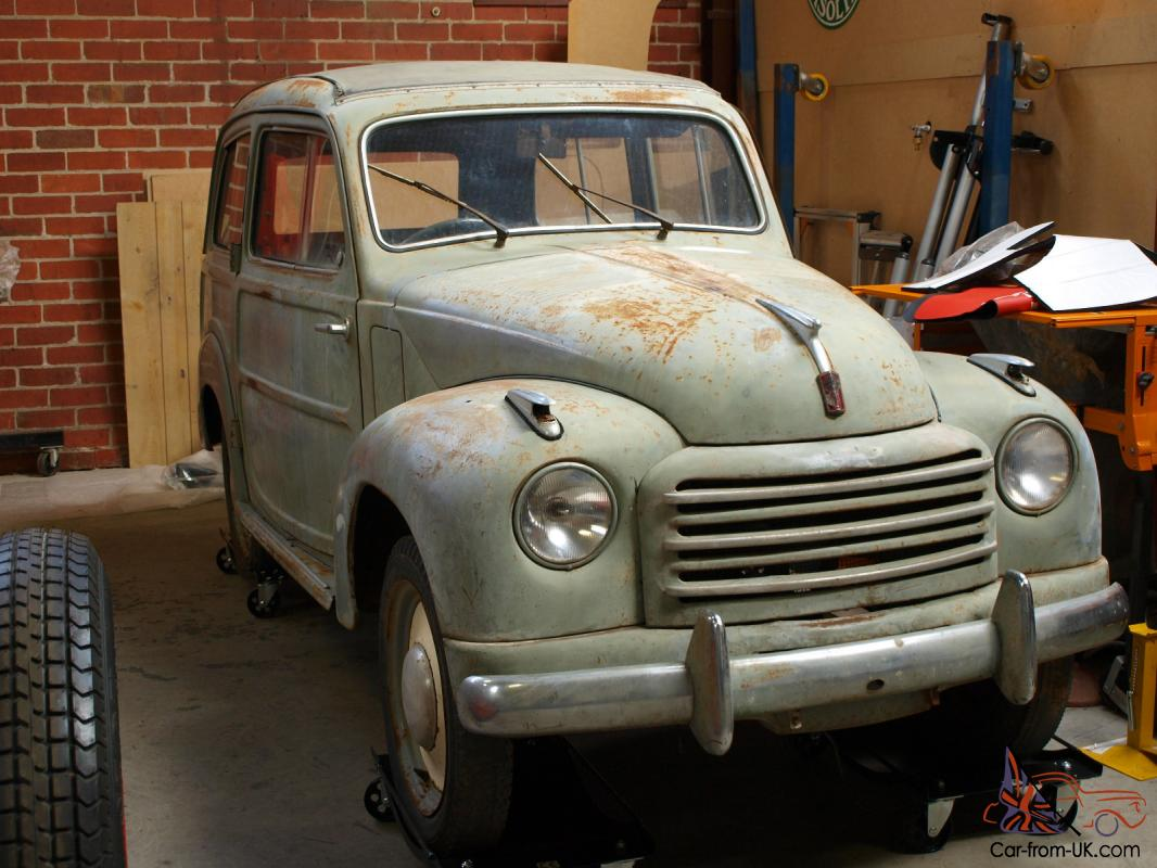 1948 50 fiat topolino belvedere wagon 500c original barn find easy restoration in melbourne vic. Black Bedroom Furniture Sets. Home Design Ideas