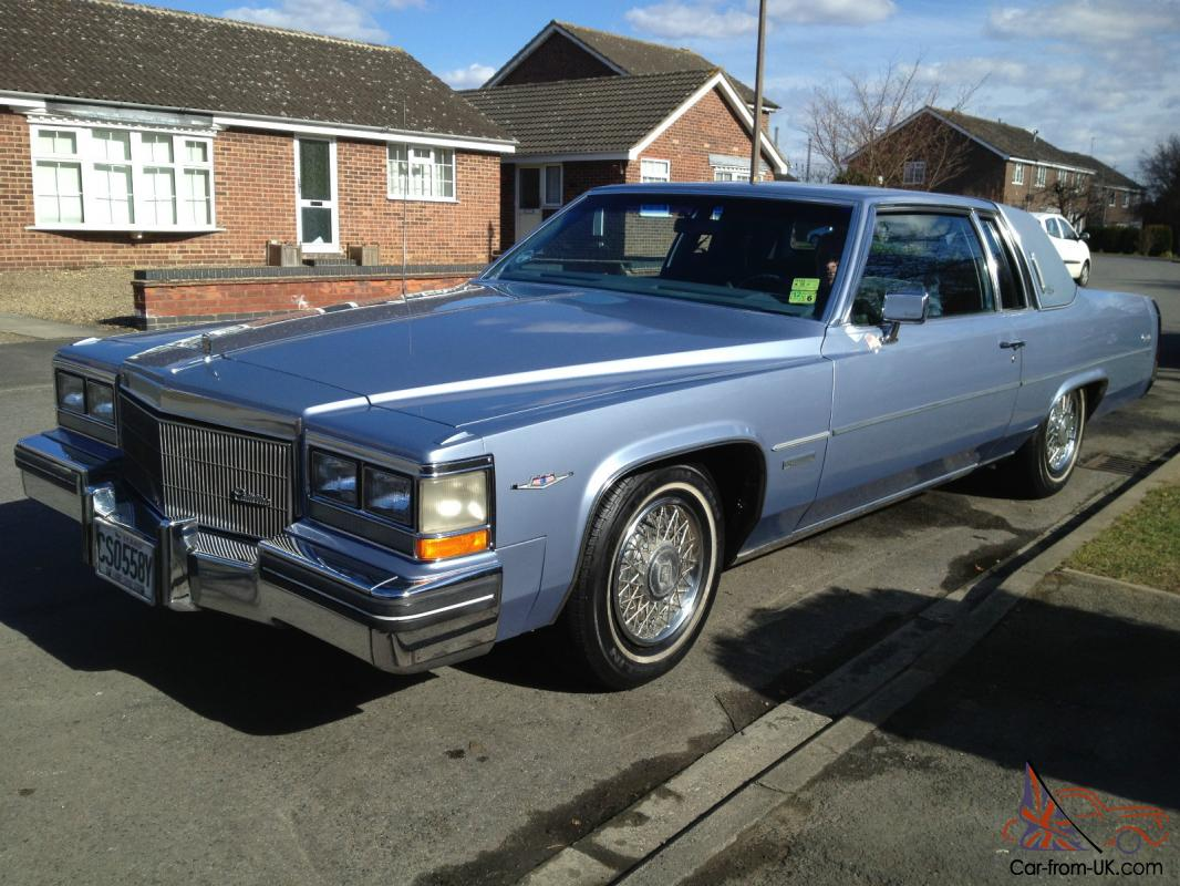 Cadillac Coupe De Ville 1983 Very Clean Car