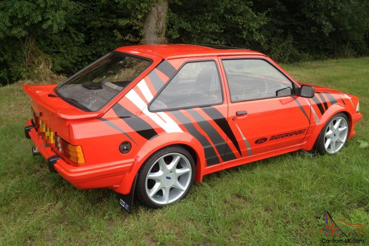 Ford Escort Xr3i Rst Photo Car Pictures