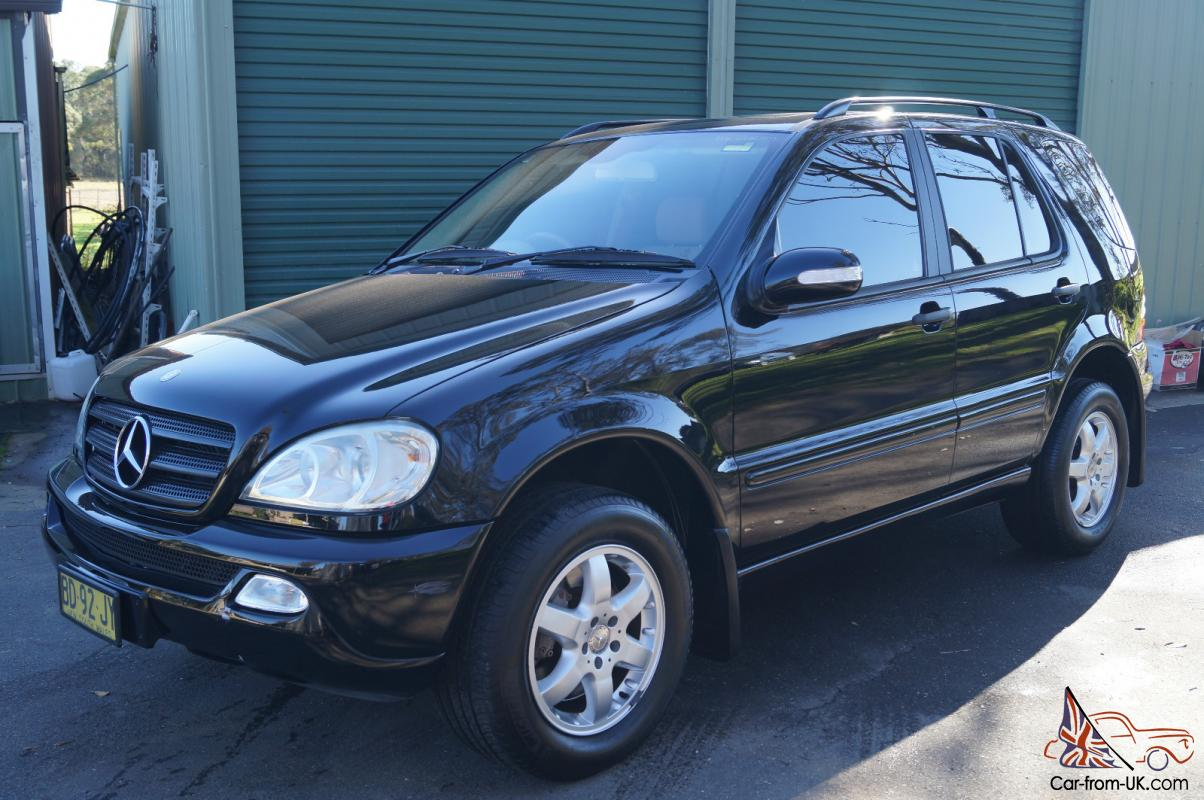 mercedes benz ml 350 4x4 2003 4d wagon 5 sp automatic tipsh 3 7l multi in sydney nsw. Black Bedroom Furniture Sets. Home Design Ideas