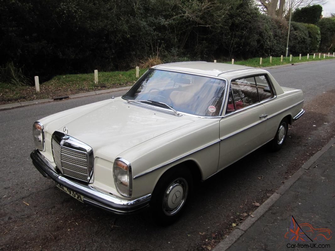 1972 mercedes 280ce w114 auto not 250ce w115 300se 280se for Mercedes benz w115 for sale