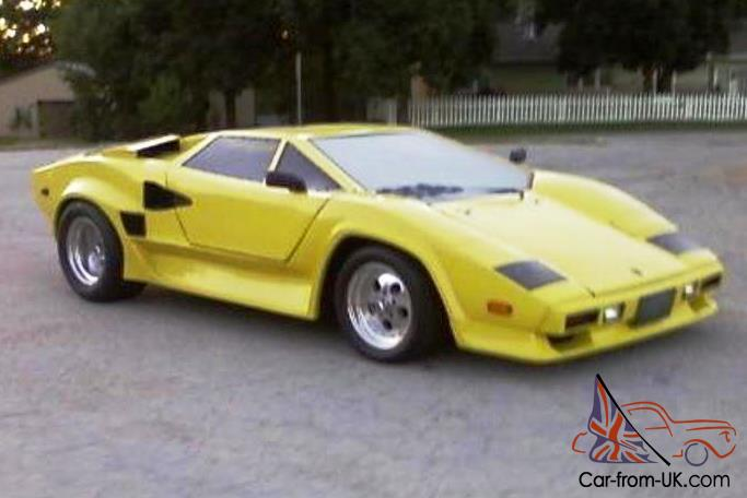 lamborghini countach replica built on 1987 pontiac fiero. Black Bedroom Furniture Sets. Home Design Ideas