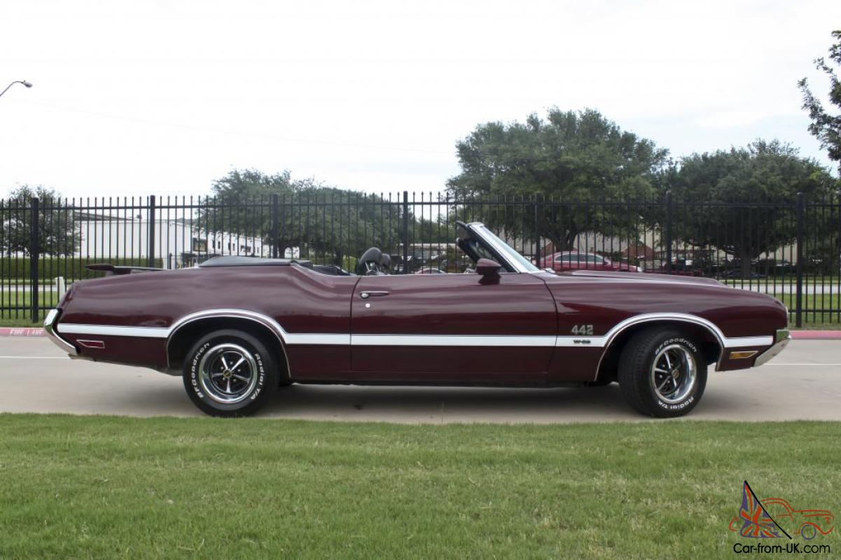 1970 Oldsmobile 442 Convertible W30 Tribute Build