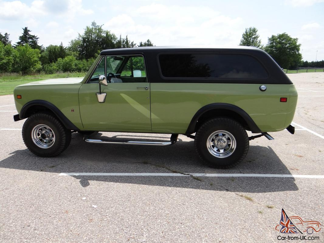 very nice 1976 international scout ii rh car from uk com International Harvester Scout Truck 1968 International Harvester Scout 800