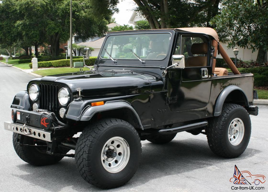 rust free california florida vehicle 1985 jeep cj7 350 v 8. Black Bedroom Furniture Sets. Home Design Ideas