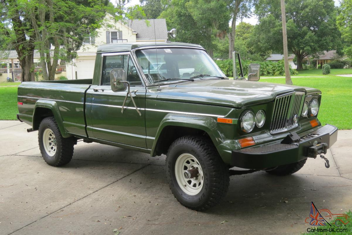1984 Jeep J10 Short Bed Pickup 360 V8, 4X4, Auto, Air, Frame Off Restored