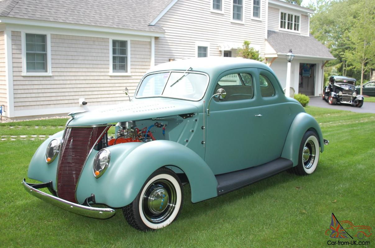 1937 ford coupe all steel with 270 dodge hemi engine for Dodge motors for sale