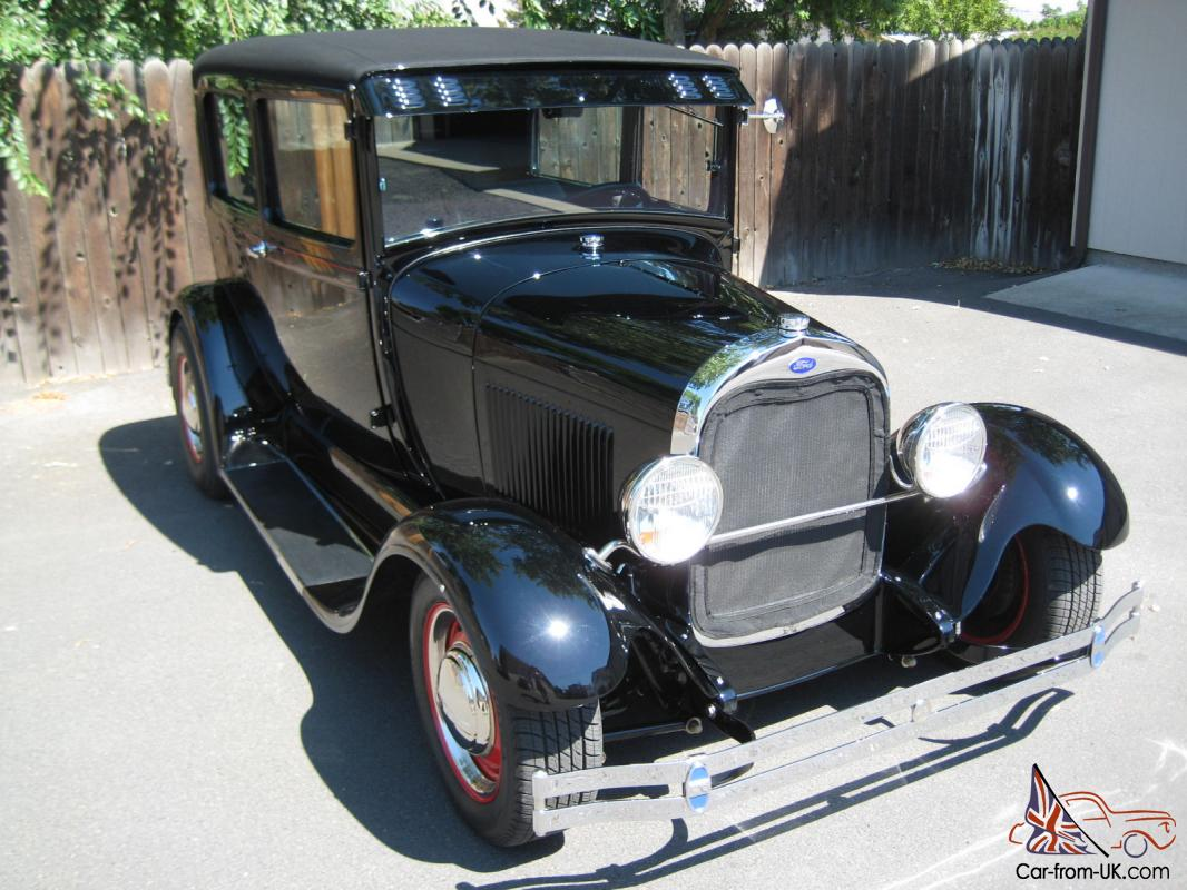 One of the nicest 1929 Ford Model A 2-Door Sedan, Resto Rod ...