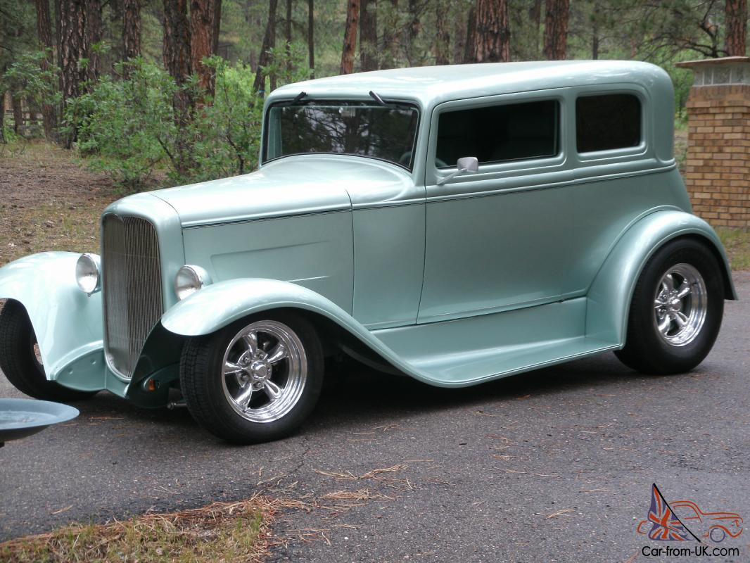 Ford Ford Vickey street rod hot rod model a chopped classic