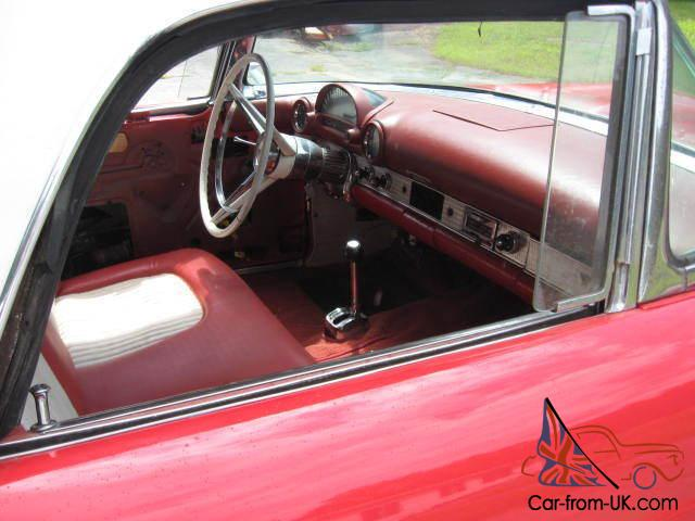 2 door complete off frame restoration red coloe with red and white interior po. Black Bedroom Furniture Sets. Home Design Ideas