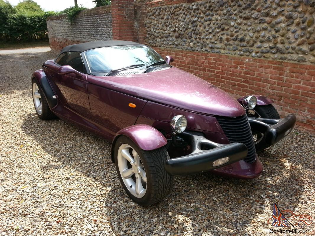 PLYMOUTH PROWLER REPLICA CONVERTIBLE HOT ROD KIT CAR MOT TAX FIERO ...