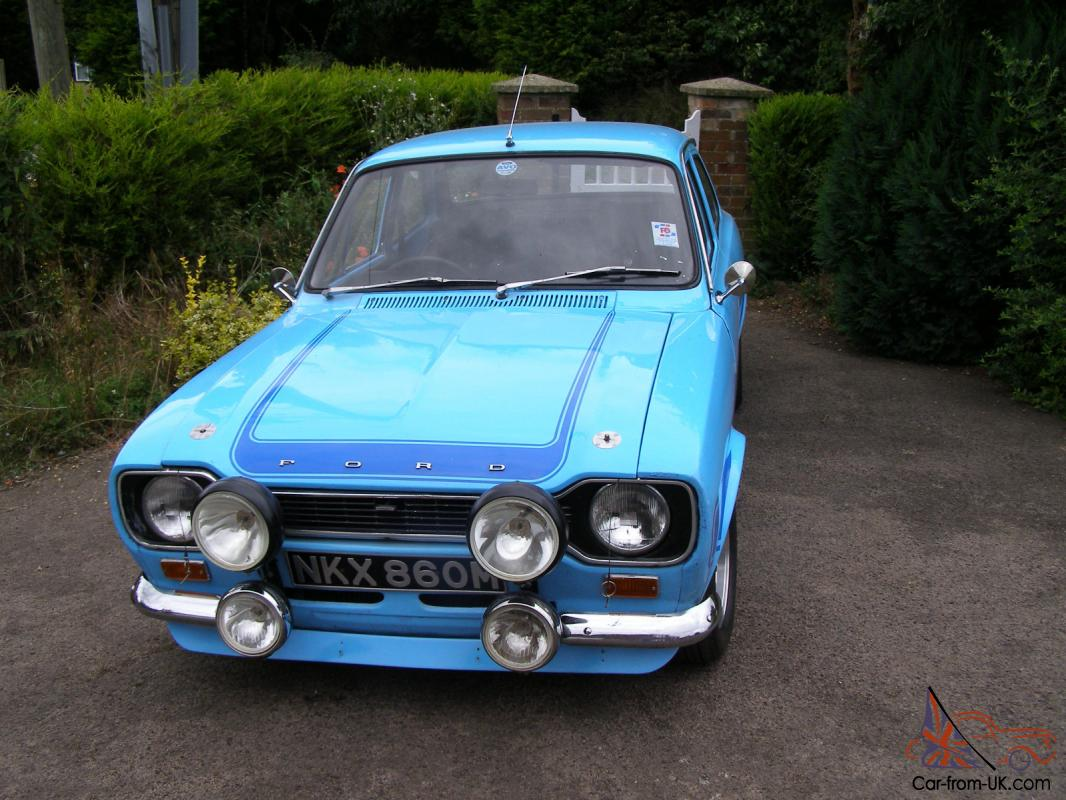 ford escort genuine mk1 rs 2000 avo 1973 olympic blue classic car. Black Bedroom Furniture Sets. Home Design Ideas