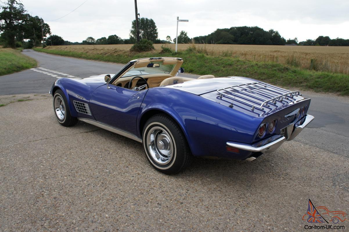 1971 chevrolet corvette stingray 350 4 speed manual roadster for sale. Cars Review. Best American Auto & Cars Review