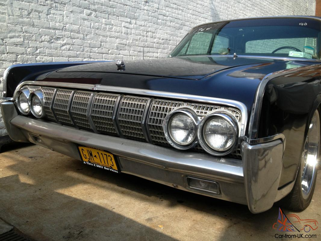 1964 lincoln continental hot rod style fully loaded. Black Bedroom Furniture Sets. Home Design Ideas