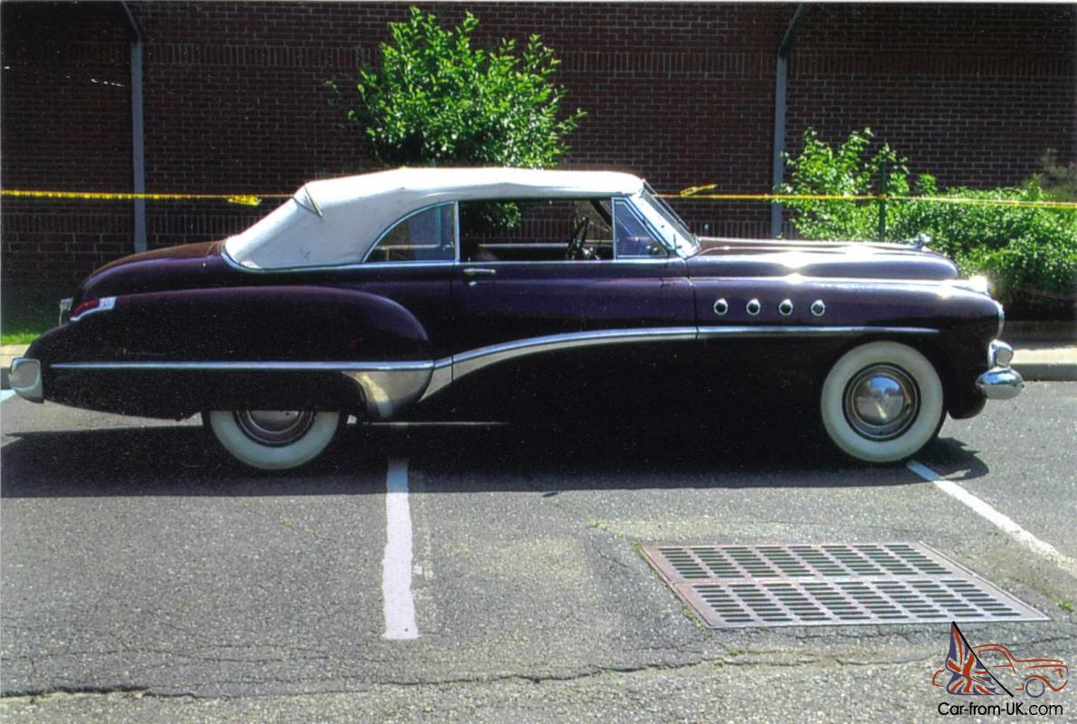 1949 buick roadmaster dynaflow convertible. Black Bedroom Furniture Sets. Home Design Ideas