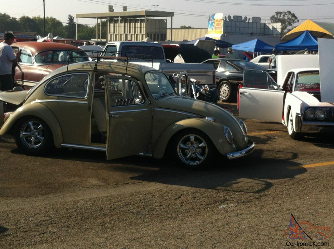Restored 1966 VW Bug Classic West Coast Custom Style Hot Rod