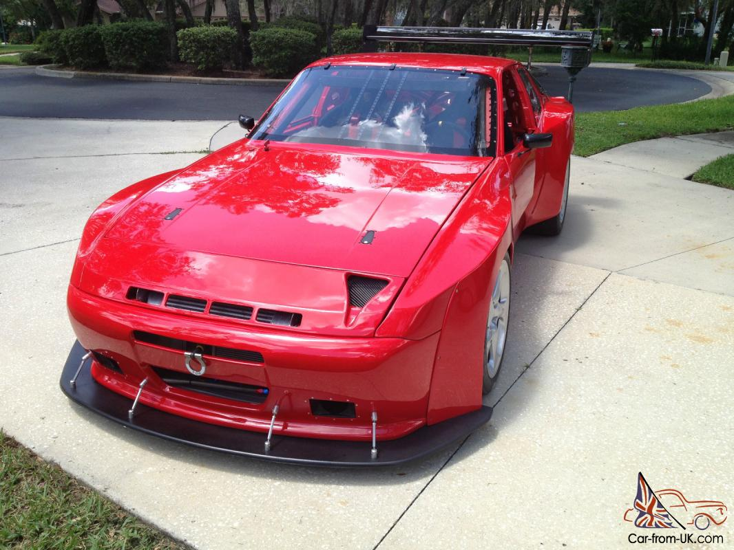 944 Turbo Race Car, Road Race, Track, DE car