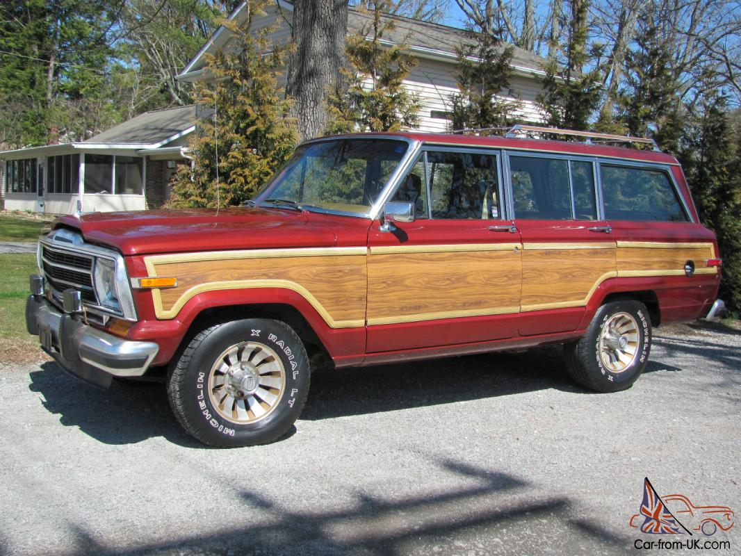 1986 jeep grand wagoneer classic 1 owner only 82k miles rust free. Black Bedroom Furniture Sets. Home Design Ideas