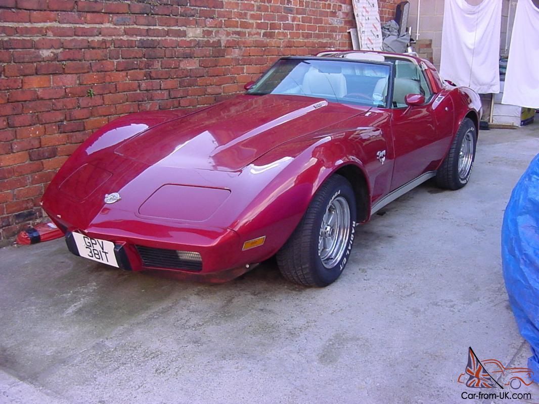 1978 chevrolet gmc corvette red chevy v8 t top convertible 25th anniversary. Black Bedroom Furniture Sets. Home Design Ideas