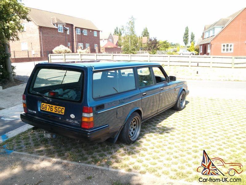 1990 G Volvo 240 Estate Turbo Lots Of Custom Parts Drift Track Rwd Sleeper
