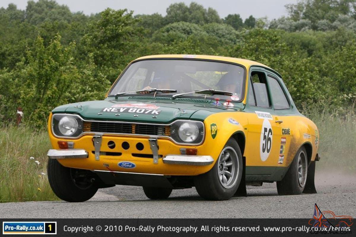1971 Ford Escort Mark 1 RS 1600 historic stage rally car replica