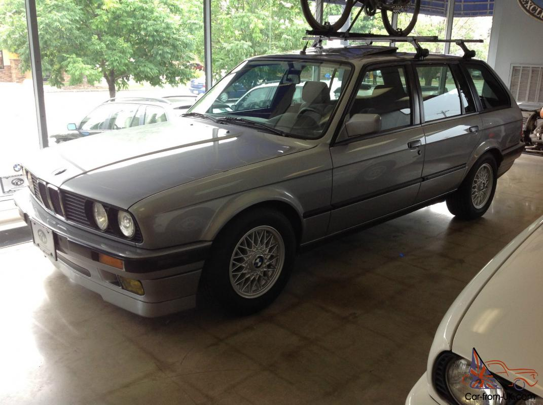 1989 bmw 325it euro touring wagon us federalized e30 estate rare 5 speed manual. Black Bedroom Furniture Sets. Home Design Ideas