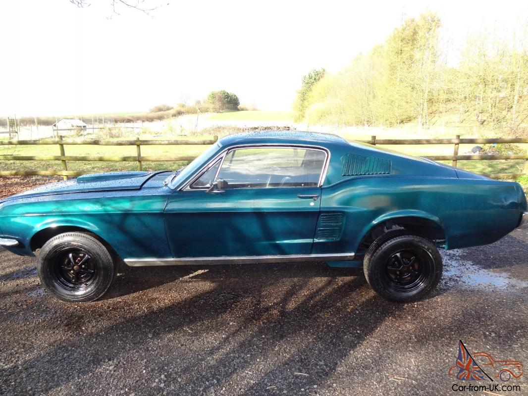 1967 ford mustang fastback fast back lhd 351 cleveland v8 good resto project