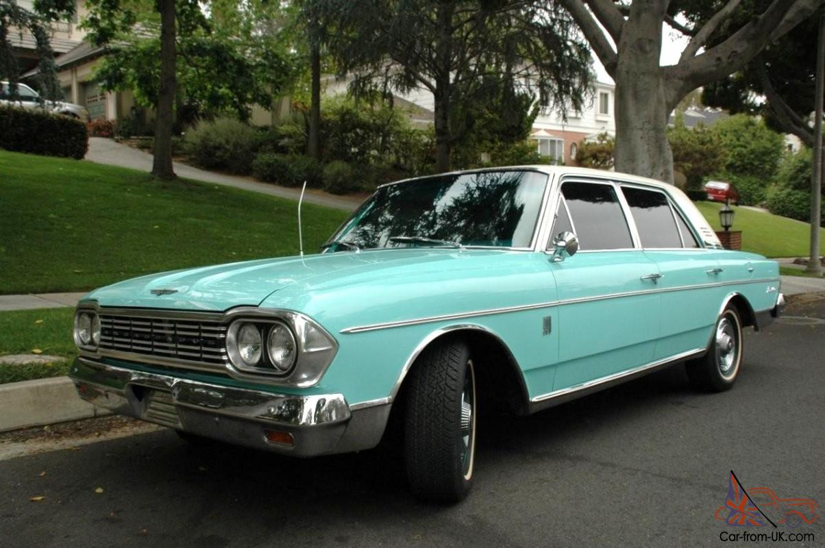 AWESOME Classic AMC Rambler Ambassador V8 Classic Collector Muscle ...
