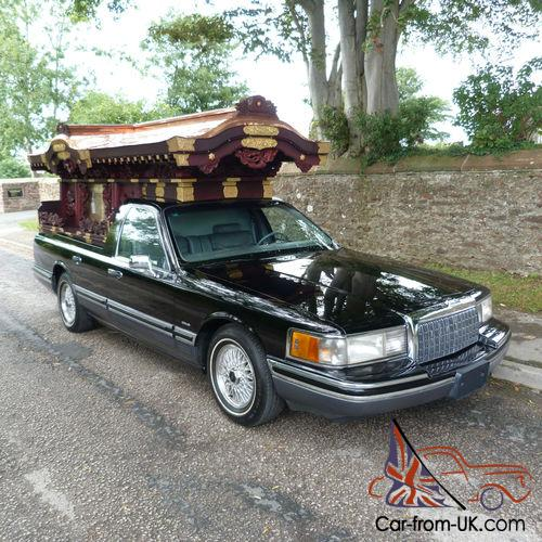 Oriental Hearse Lincoln Town Car Japenese Decorative Hearse Part