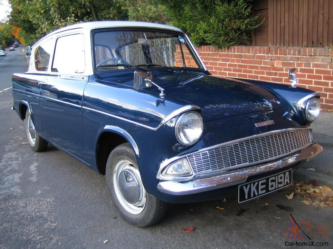 Original ford anglia 105e 1963 owned for 26 years