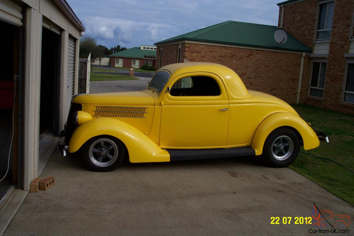 1936 ford 3 window coupe hotrod in barwon vic for 1936 ford 3 window