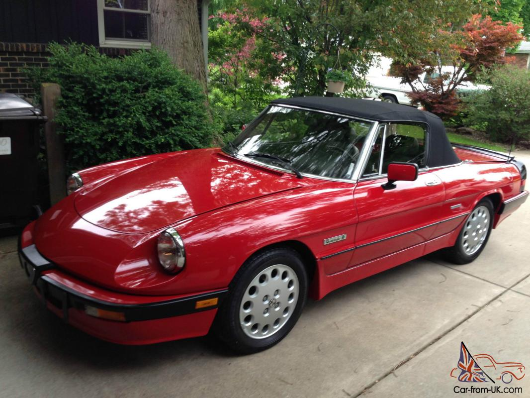 Alfa romeo spider veloce 2000 for sale 16