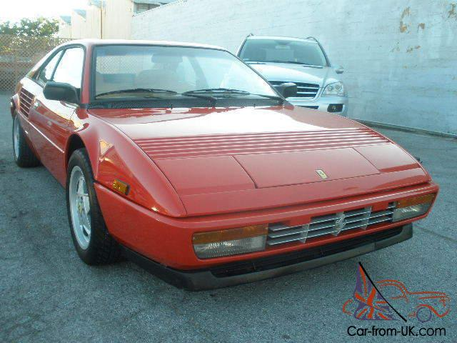 1988 ferrari 3 2 mondial qv coupe one california owner. Black Bedroom Furniture Sets. Home Design Ideas