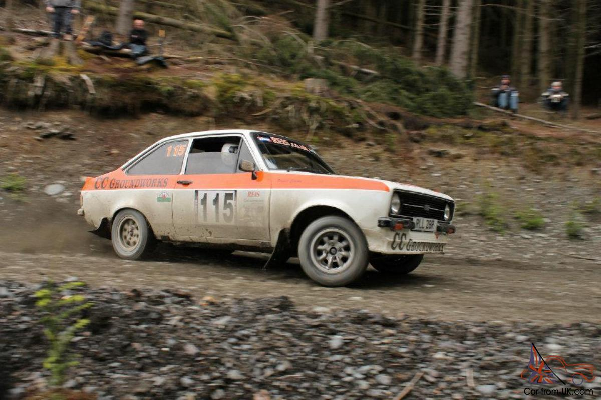 ESCORT Mk2 RS2000 Historic Rally Car